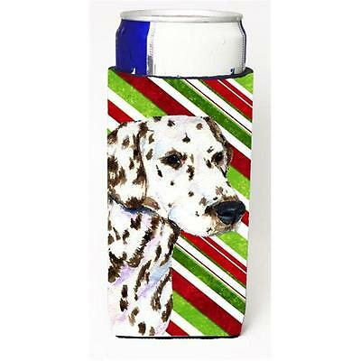 Dalmatian Candy Cane Holiday Christmas Michelob Ultra s For Slim Cans 12 oz.
