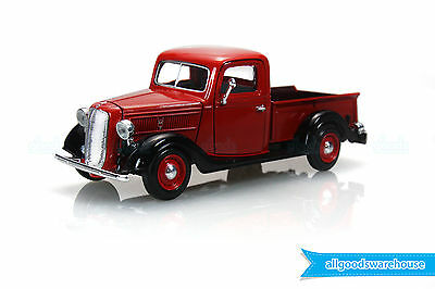 1937 Ford Pickup Truck Red 1:24 scale American Classic die-cast model car