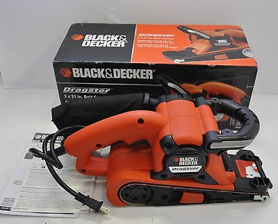Dragster 7 Amp 3-inch By 21-inch Belt Sander With Cloth Dust Bag Ds321