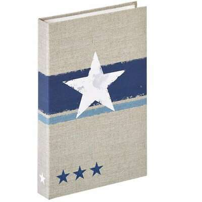 Walther Stellar Blue 6x4.5 Flip Photo Album - 80 Photos
