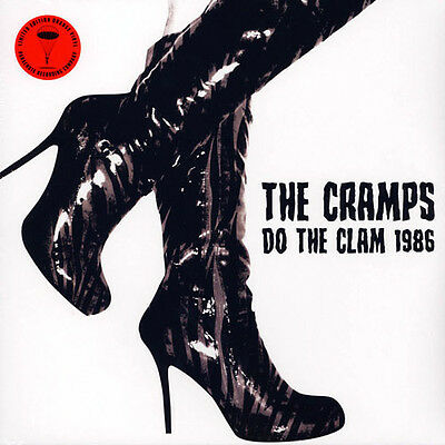 THE CRAMPS Do The Clam 1986 ORANGE VINYL 2LP - Limited Edition