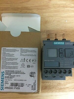 Siemens Sirius 3RR2242-1FW30 4-40 amp current monitor