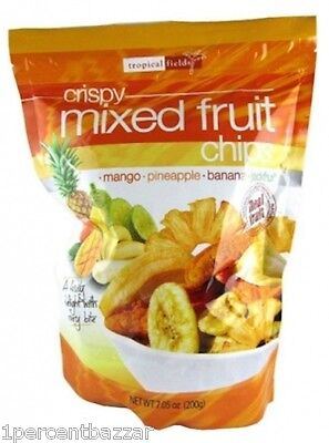Tropical Fields Crispy Mixed Fruit Chips 200g x 25packs