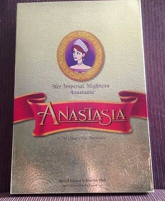 NRFB Anastasia Her Imperial Highness 1997 Special Edition 20th Century Fox