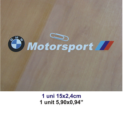 Adhesivo Pegatina Sticker Decal Aufkleber Autocollant Bmw Motorsport