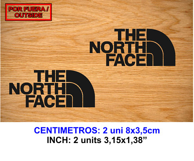 The North Face Vinilo Pegatina Vinyl Sticker Decal Aufkleber Autocollant Adesivi