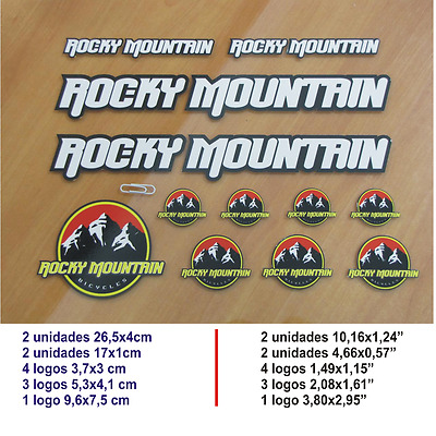 Adhesivo Pegatina Sticker Decal Aufkleber Autocollant Vinilo  Rocky Mountain