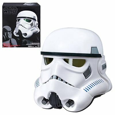 Hasbro Imperial Stormtrooper Electronic Voice Changer Helmet Star Wars Rogue One