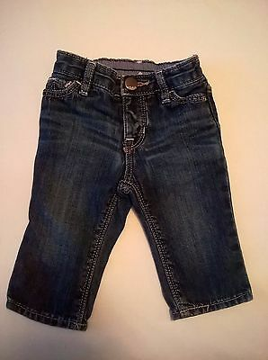 girl boy unisex baby gap infant jeans pants newborn 3-6 months 1969 distressed