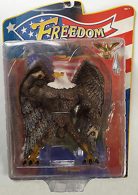 4th of July FREEDOM The AMERICAN EAGLE 911 Commemorative Patriotic ACTION Figure