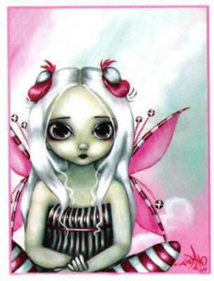 NEW Jasmine Becket-Griffith Peppermint Pretty Pink Fairy Vinyl Sticker Decal