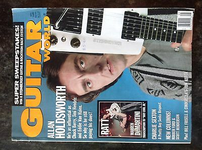 Guitar world magazine May 1989