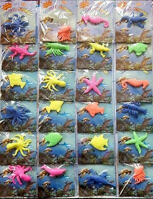 24 packs Jelly Growing Sea Creatures Amazing toys  kids children party bag toy