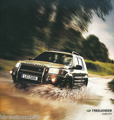prospekt land rover freelander zubeh r 2003 car brochure. Black Bedroom Furniture Sets. Home Design Ideas