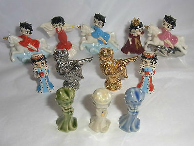 Wade BETTY BOOP WHIMSIES - Various Colourways & Styles some with COA
