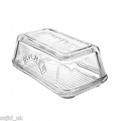 Kilner Glass Butter Dish with Lid