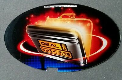 Atronic Slot Machine Topper Insert DEAL OR NO DEAL
