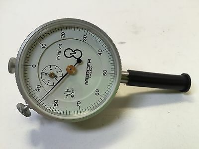 Mercer Dial Indicator. Type 211. Made In England