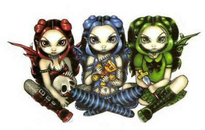 NEW Jasmine Becket-Griffith Wicked Triscky And False Fairy Vinyl Sticker Decal