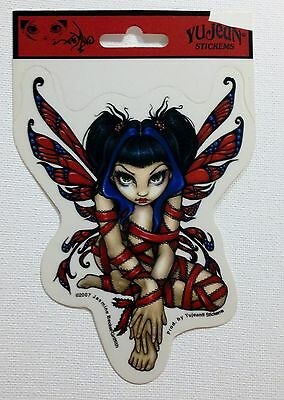 NEW Jasmine Becket-Griffith Red Ribbon Gothic Fairy Vinyl Car Sticker Decal