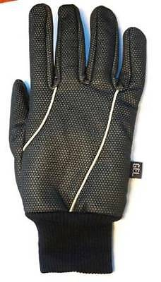 Cycling PRO-SERIES Full Long Finger Winter Thermal Gloves Gel Padded Palm BLACK