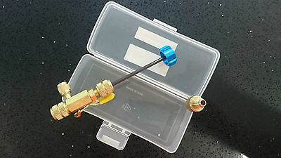 "Refrigeration Schrader Valve Core Remover / Installer Tool Kit 1/4"" & 3/8"""