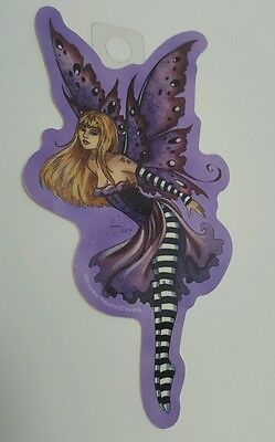 New Amy Brown Purple Fairy Sticker Decal