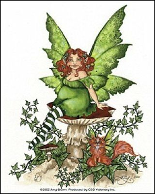New Amy Brown Sicker Decal Ivy Fairy Fantasy Mythical Magic