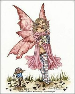 New Amy Brown Sicker Decal The Flirt Fairy Fantasy Mythical Magic