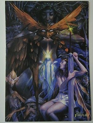New Brian Froud World Of Froud Fairy Woodland Water Fey Sticker Decal