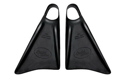 Limited Edition Joe Clarke All Blacks Bodyboard Fins/Flippers