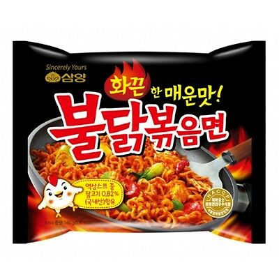 Samyang Buldak Bokeum Myun 3/6/9 packs Best Spicy Korean Ramen Noodle SHU 4,040
