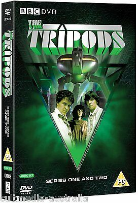 The Tripods Complete Series Season 1 + 2 New 4 Dvd Special Edition Boxset R4