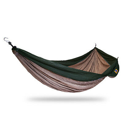 Ticket to the moon King Size Hammock - Khaki / Army Green | Camping Outdoor