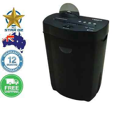 Paper Shredder Cross Cut Electric Home Office 22L 10 A4 Sheet Credit Card Disc
