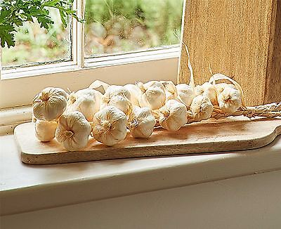 Bloom Faux Garlic String Home Kitchen Decoration Cuisine Ambiance Ornament