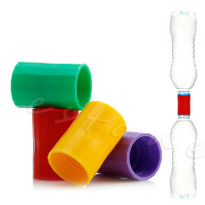 2X Tornado Vortex Bottle Water Connector Science Cyclone Tube Experiment Sensory