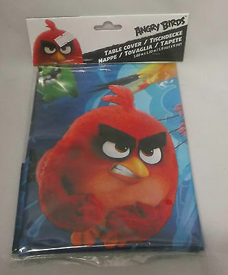 Tovaglia In Pvc Angry Bird 120X180Cm Amscan