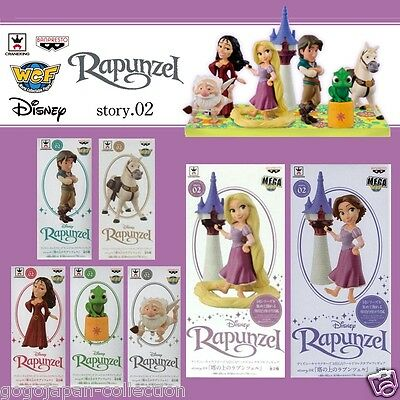 Disney Characters WCF World Collectable Figure story.2 RAPUNZEL Complete set