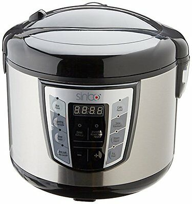 Sinbo SCO5037 Multi Fornello Multicooker All In One, Display led, timer 24 ore