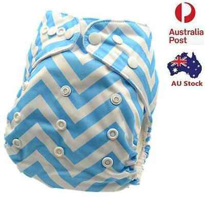New Modern Cloth Nappies Baby Anytime MCN Diaper One-Size-Fits-Most Nappy (D127)