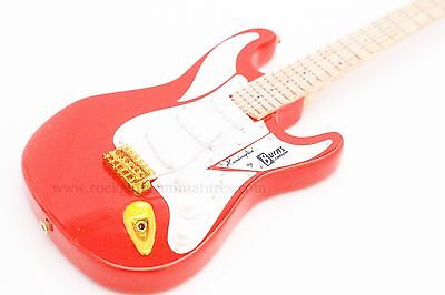 RGM104 Hank Marvin Miniature Guitar with leather strap