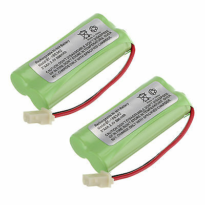 Lot of 2pcs Cordless Home Phone Battery Pack for AT&T BT166342 BT266342 TL32100