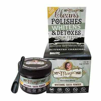 My Magic Mud Whitening Detoxifying Tooth Powder W Activated Charcoal 85g