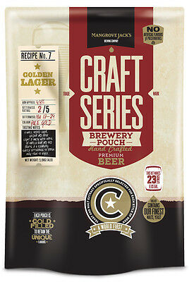 Mangrove Jack's: Craft Series - Golden Lager Pouch (1.8kg)