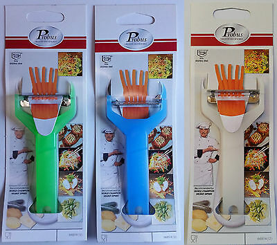 Probus Vegetable Peeler & Julienne Cutter Slicer Carrot Cucumber Cheese