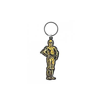 Star Wars C3PO Rubber Keychain
