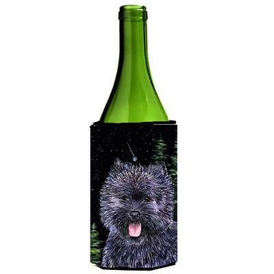 Carolines Treasures Starry Night Cairn Terrier Wine bottle sleeve Hugger 24 oz. • AUD 48.26