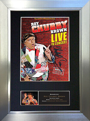 ROY CHUBBY BROWN Signed Autograph Mounted Reproduction Photo A4 Print no478