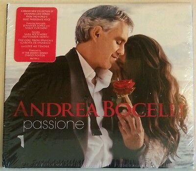 "PASSIONE [Digipak] by ANDREA BOCELLI (CD, Jan-2013-Verve-USA) BRAND NEW ""SEALED"""